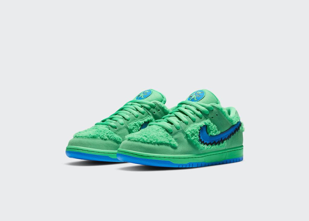 NIKE Grateful Dead Sneaker Green