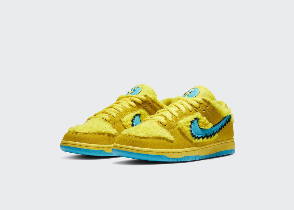 NIKE Grateful Dead Sneaker Yellow