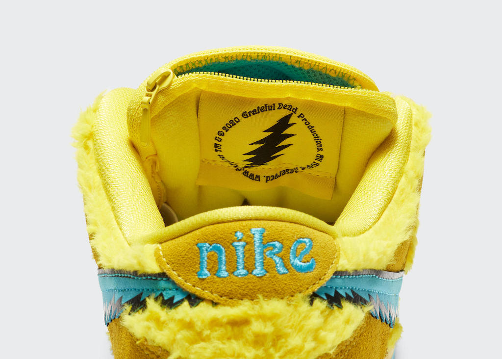 Nike Grateful Dead Steal Your Face Yellow