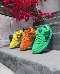 Nike and Grateful SB Dunk Low