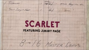Scarlet Featuring Jimmy Page