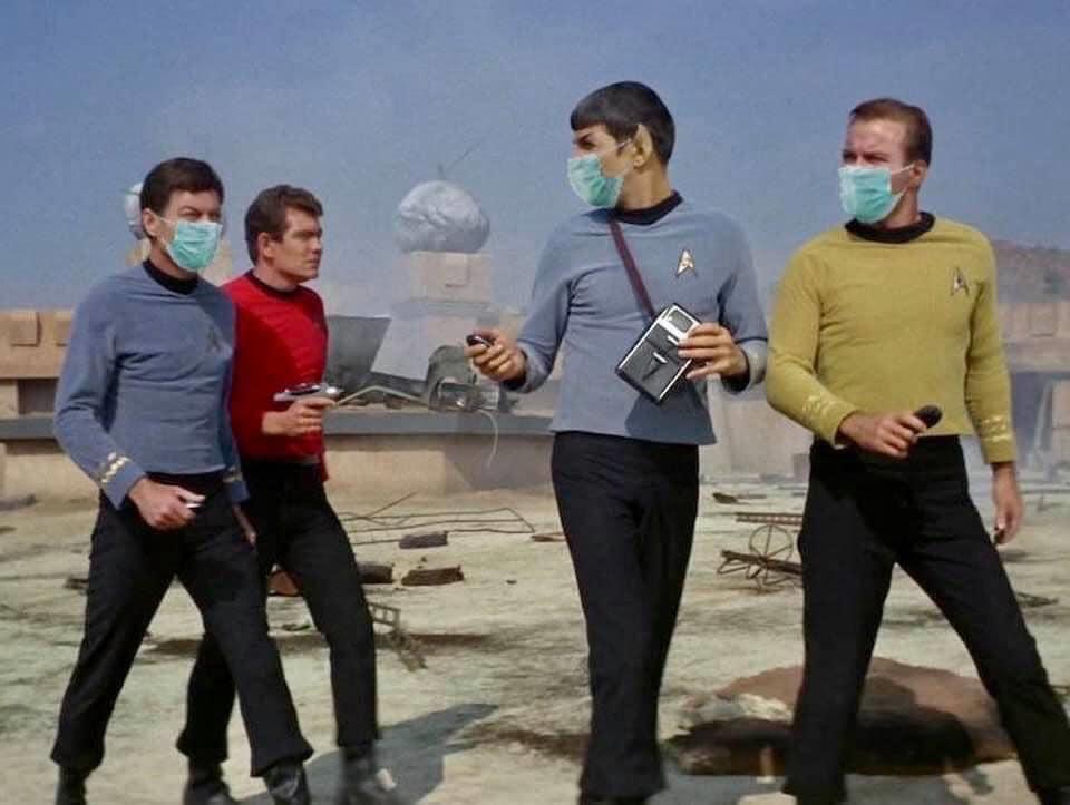 Star Trek Mask