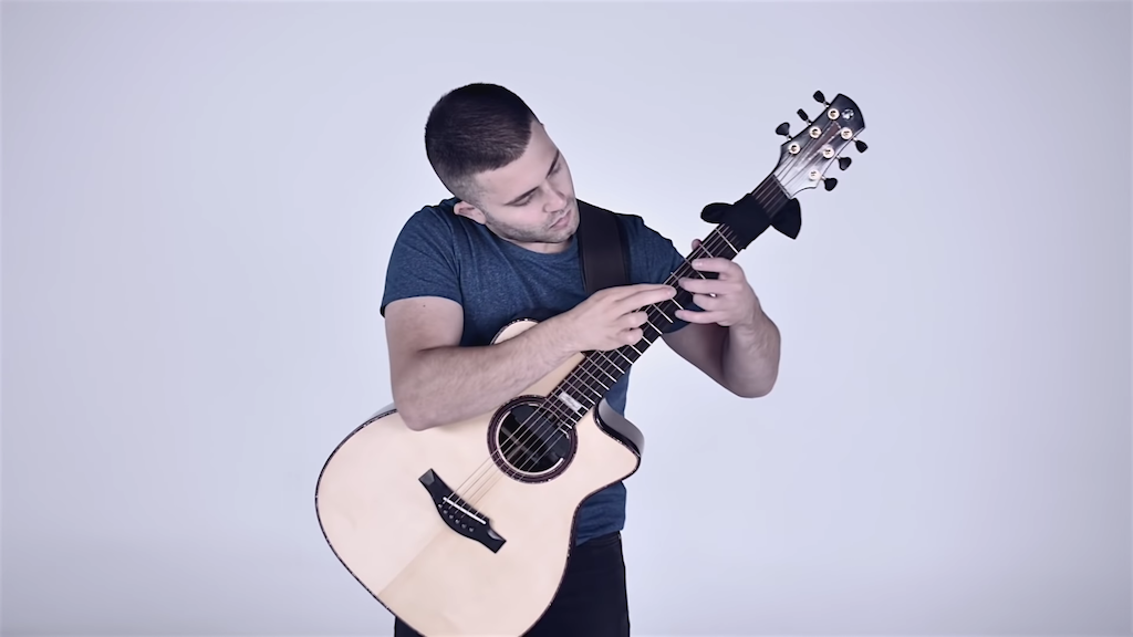 Turkish March on Acoustic Guitar
