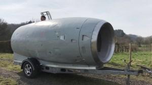 VC10 Jet Housing Camper Trailer