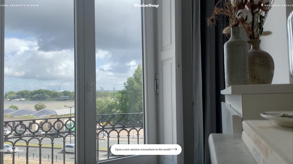 Window Swap Bordeaux France