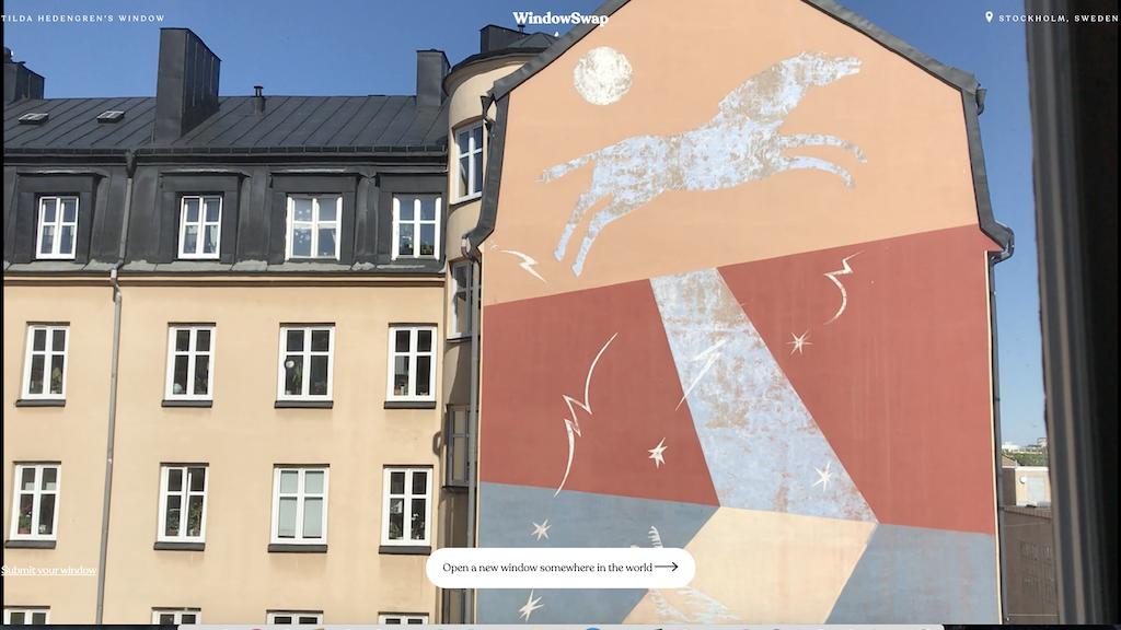 Window Swap Stockholm