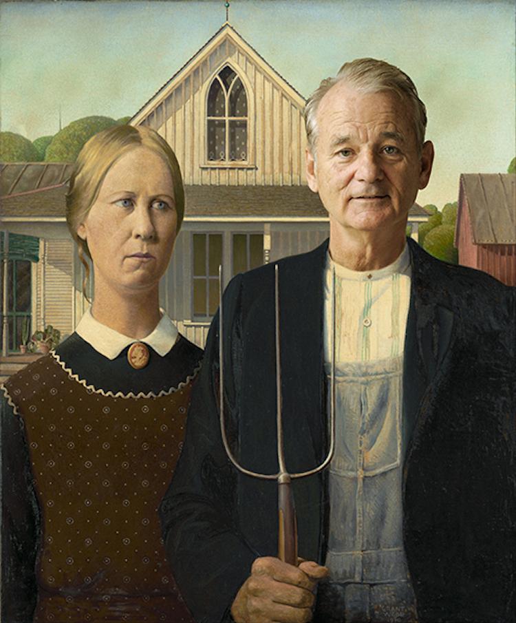 American Gothic Bill Murray