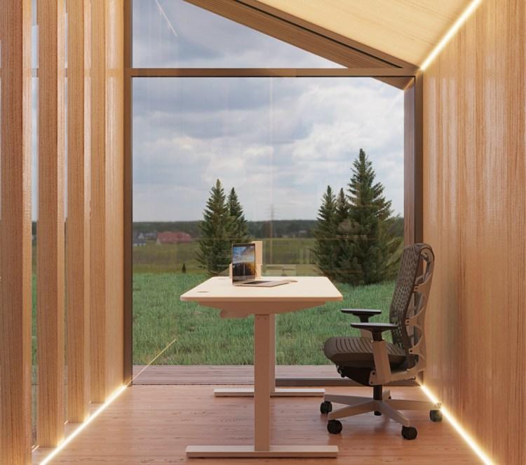 Autonomous Zen Pod Desk