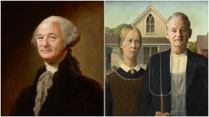 Bill Murray George Washington American Gothic