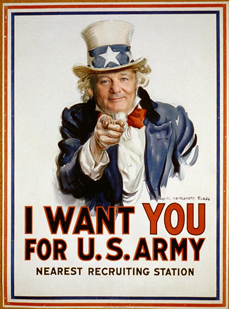 Bill Murray Uncle Sam