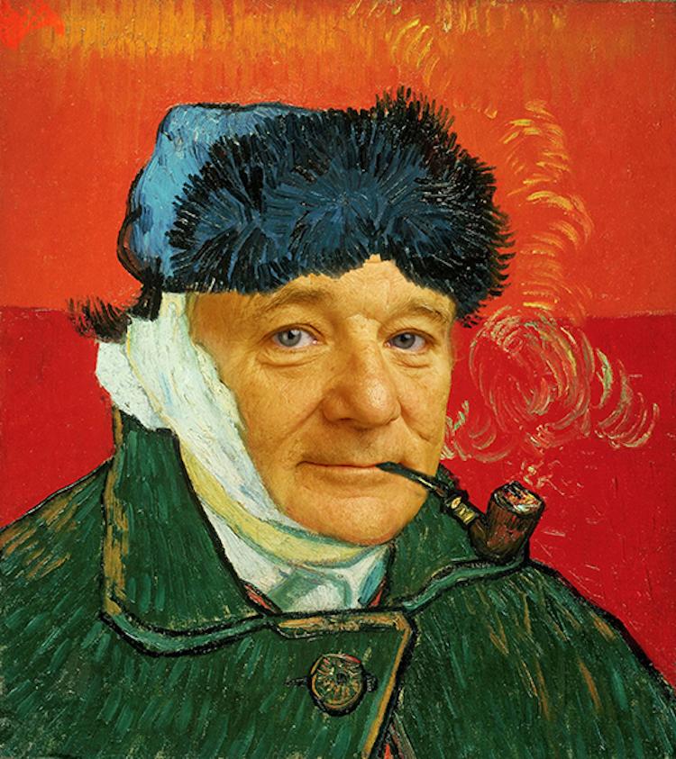 Bill Murray Van Gogh