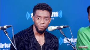 Chadwick Boseman Gets Emotional About Black Panther