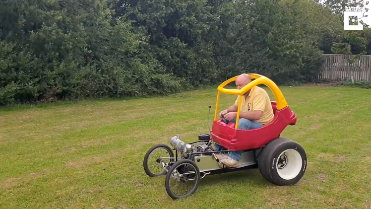 Cozy Coupe Hot Rod