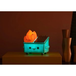 Dumpster Fire Night Light