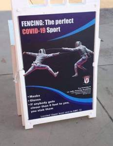 Fencing the Perfect Sport