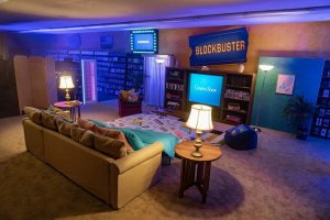 Last Blockbuster on AirBnB