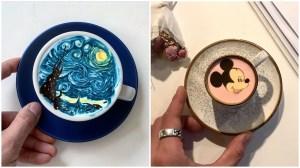 Latte Painting