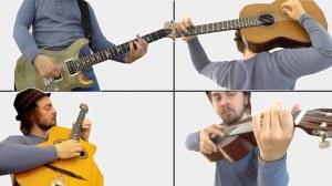 Lucas Brar 16 Ways to Hold Guitar