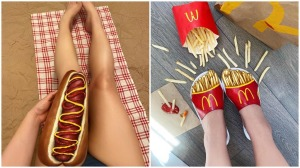 Mimi Choi Food Body Illusions With Makeup