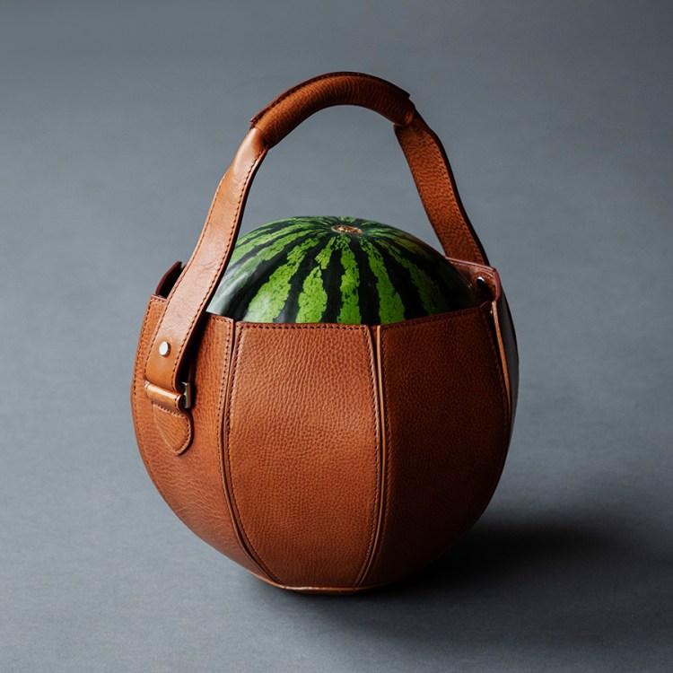 Watermelon Bag Upright