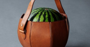 Watermelon Leather Bag