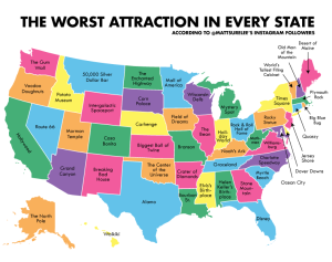 Worst Attraction in Every State