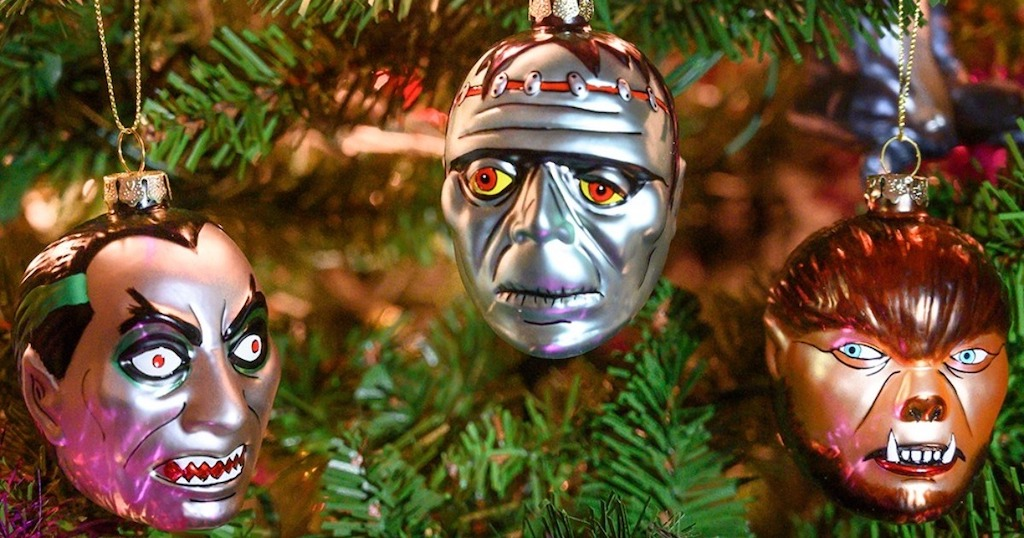 Archie McPhee Monster Ornaments