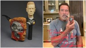 Arnold Schwarzenegger Pipe