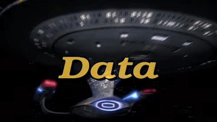 Data A 90s Sitcom