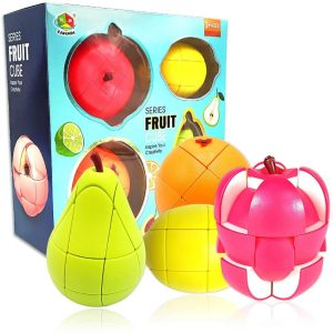 Fruit Rubiks Cubes Set