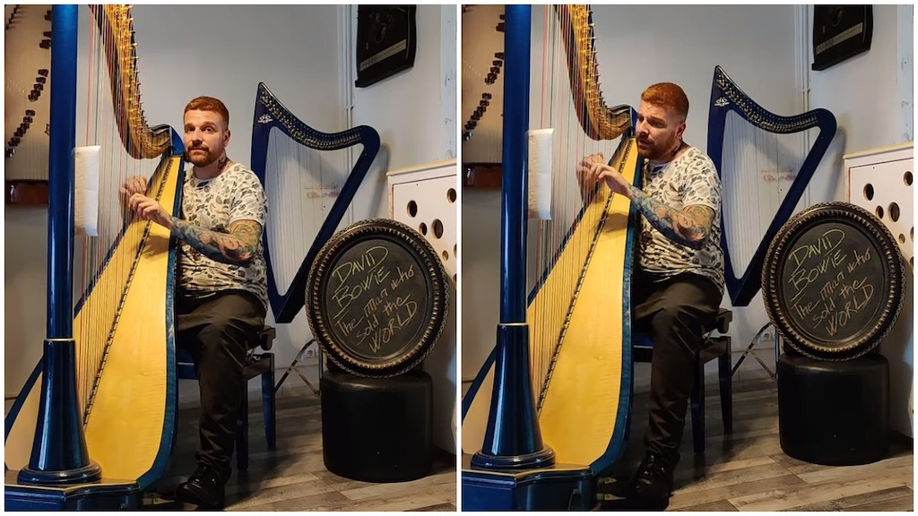 Harp Cover Man Who Sold the World