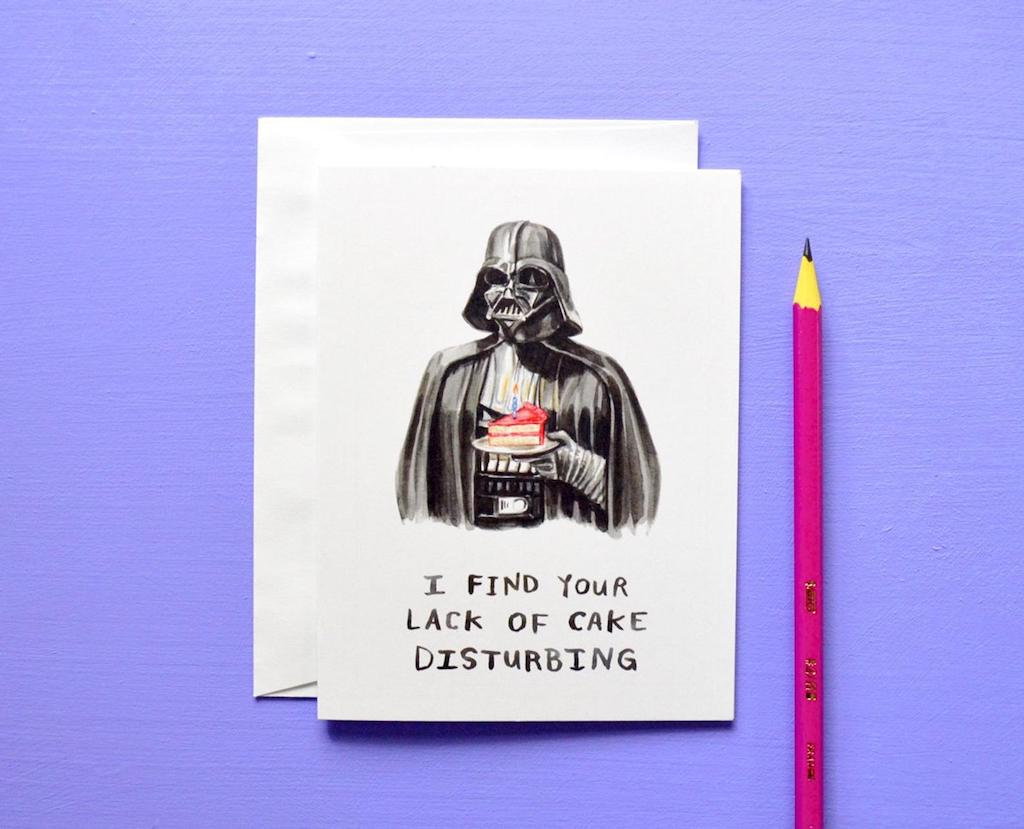 Heather Buchanan Card Darth Vader