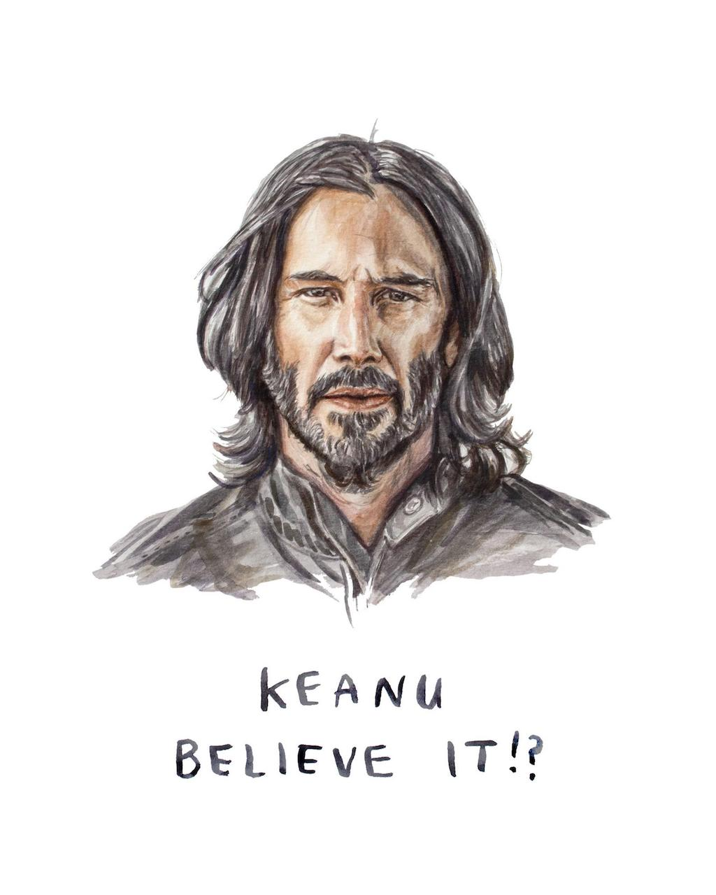 Heather Buchanan Card Keanu Believe It