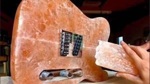 Himalayan Salt Guitar