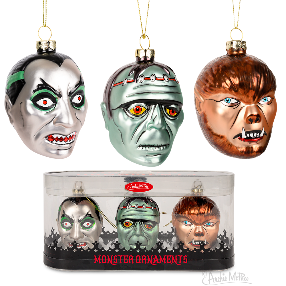 Monster Ornaments Box