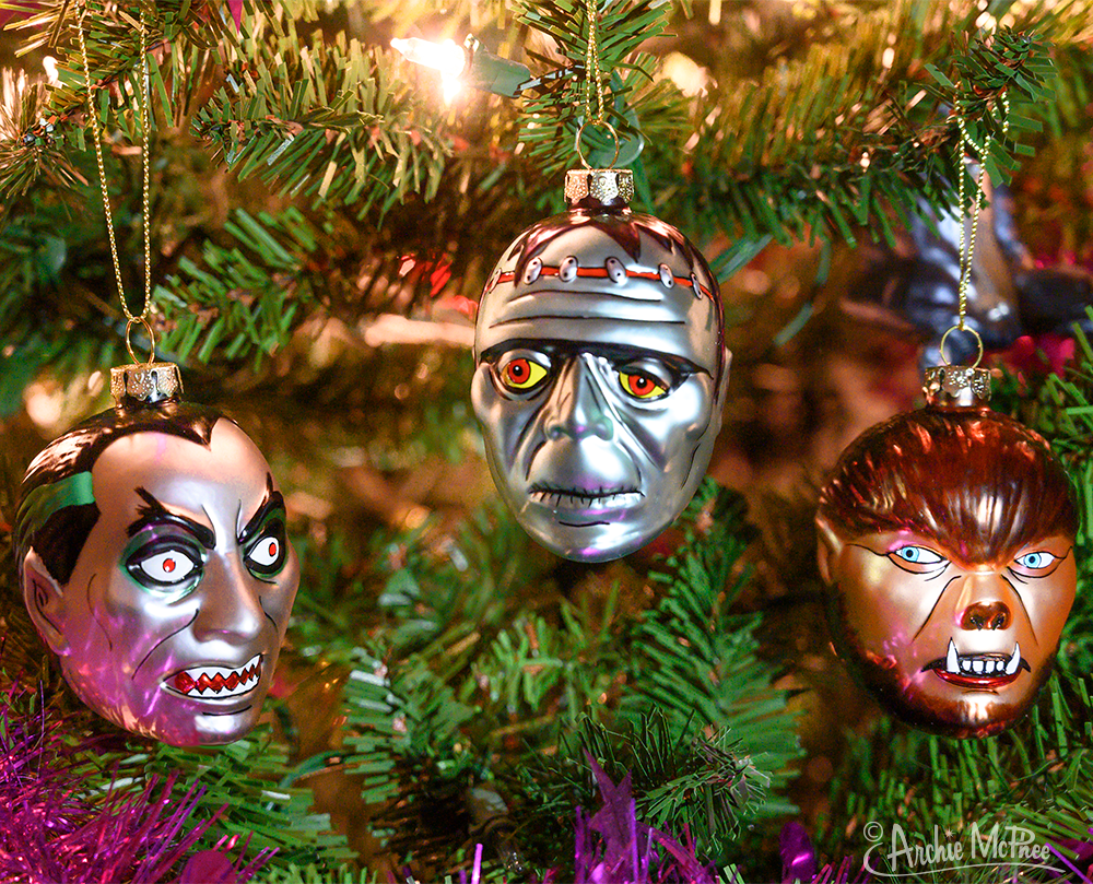 Monster Ornaments Tree