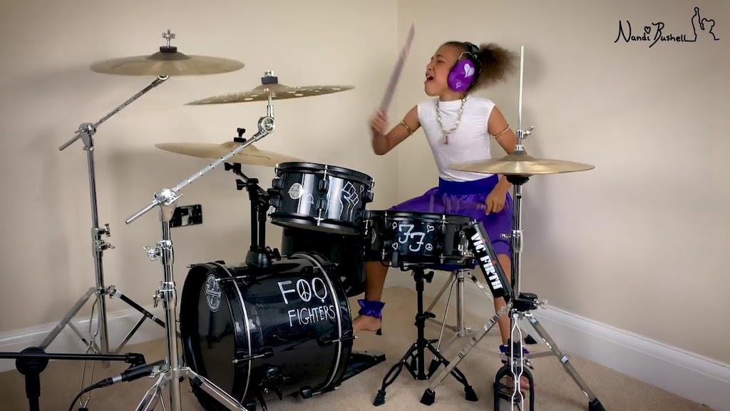 Nandi Bushnell Foo Fighters Everlong Drums