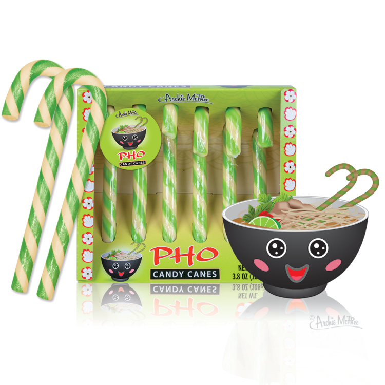 Pho Candy Canes
