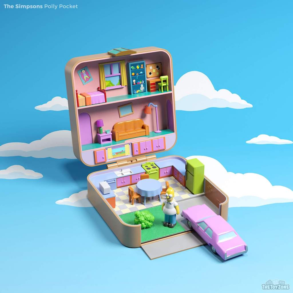 Polly Pockets The Simpsons