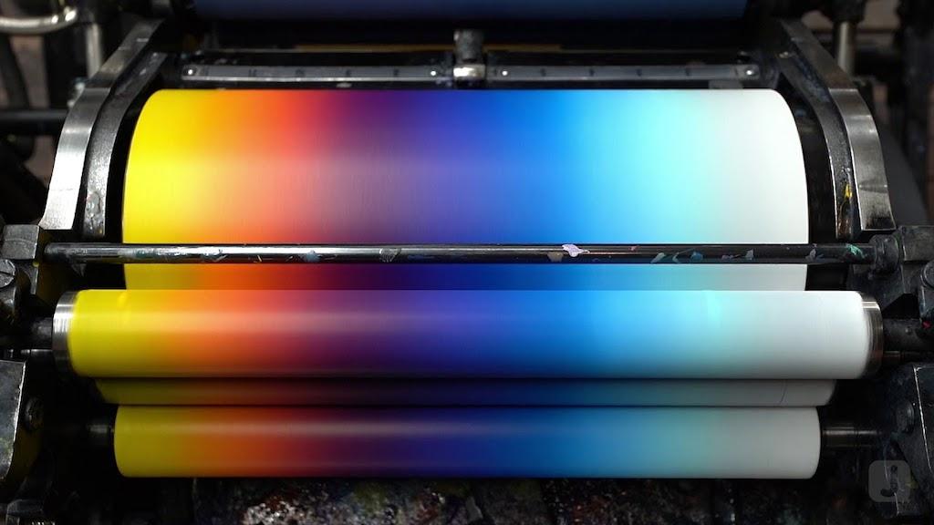 Rainbow Letterpress
