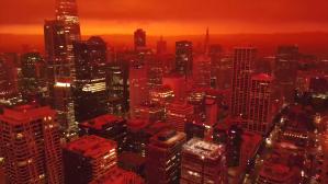 San Francisco Looking Like Blade Runner