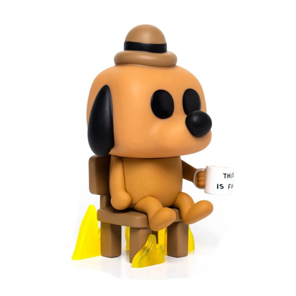 This Is Fine Vinyl Figure