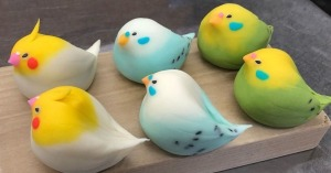 Wagashi Birds