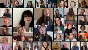 40 Female Arts Perform Dreams by The Cranberries