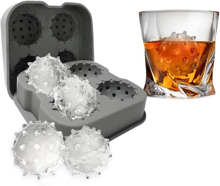 Coronavirus Ice Cube Tray Drink