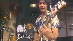Eddie Van Halen Letterman