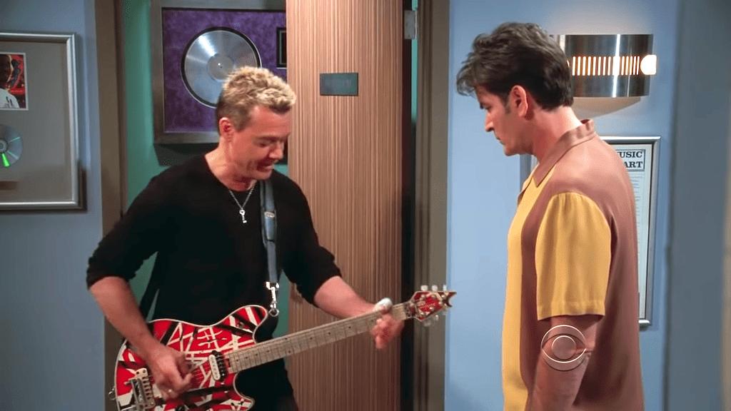 Eddie Van Halen on Two and a Half Men