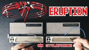 Eruption on Stylophone