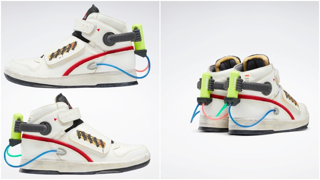 Reebok Pays Tribute to 'Ghostbusters' With Limited Edition Sneakers That Have Mini Proton Packs Attached