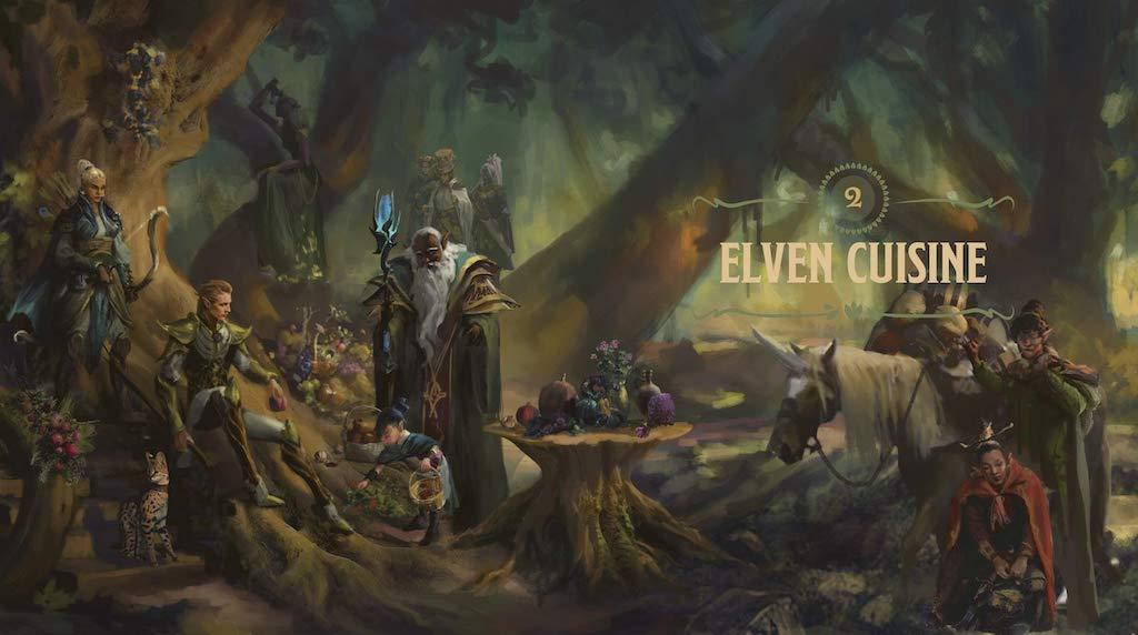 Heroes Feast D and D Cookbook Elven Cuisine
